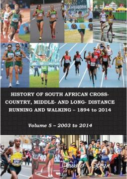 History of South African cross country, middle- and long-distance running and walking